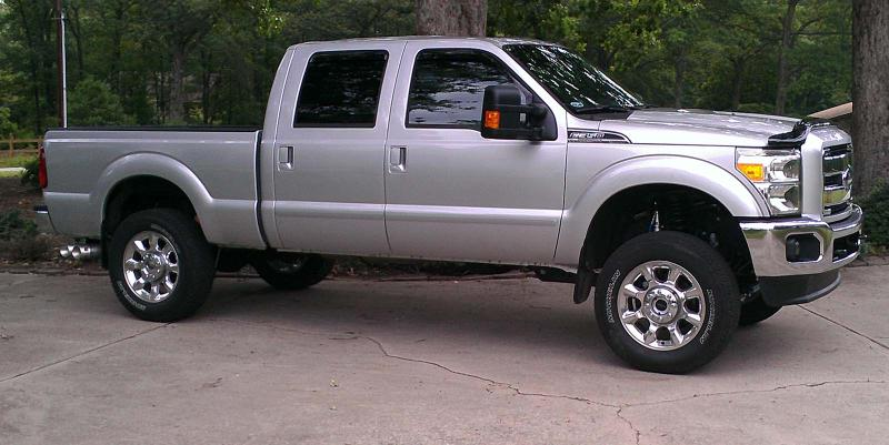 2012 ford f350 leveling kit submited images